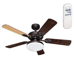 Ανεμιστήρας Οροφής με Φως και Τηλεχειριστήριο 20-6066-18-185 Sun Light