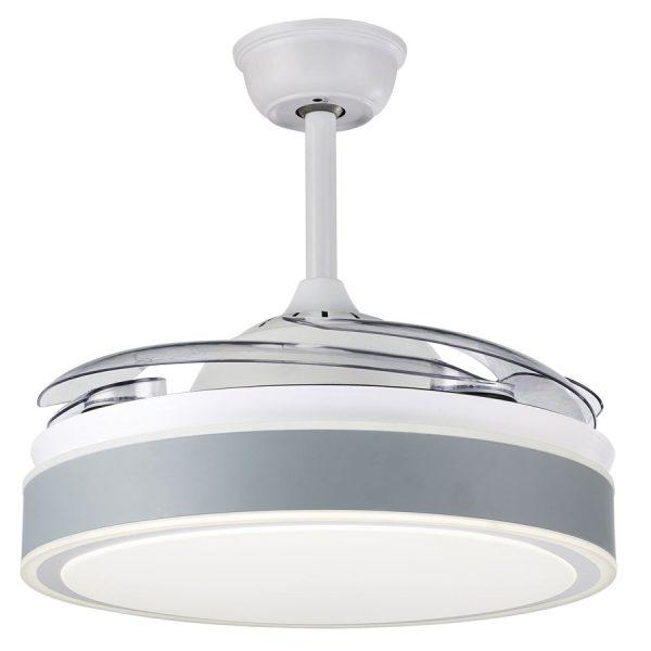 Ανεμιστήρας Οροφής με Φως και Τηλεχειριστήριο 5028-GY Sun Light