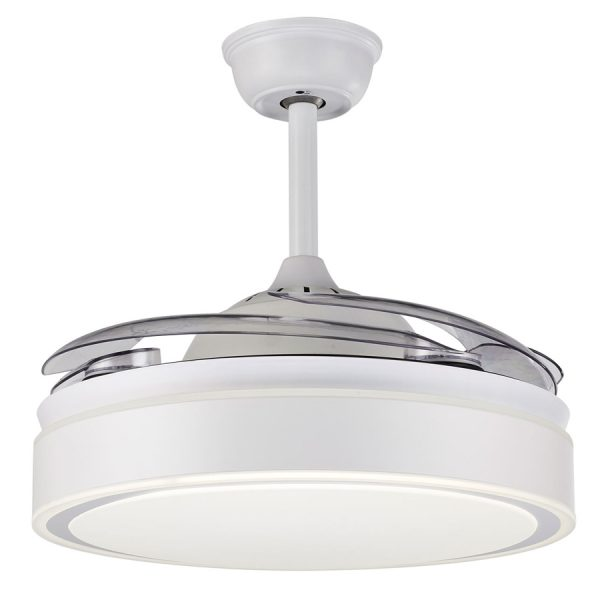 Ανεμιστήρας Οροφής με Φως και Τηλεχειριστήριο 5028-W Sun Light