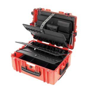 Σκληρή θήκη εργαλείων Gigant Trolley κόκκινο CIMCO 170096-05170096