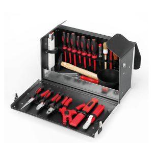 Σκληρή θήκη με εργαλεία πλήρης Leather Apprentice CIMCO 170300-05170300