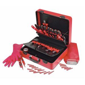 Σκληρή θήκη με εργαλεία πλήρης Diamant 45 Κόκκινη CIMCO 175370-05175370