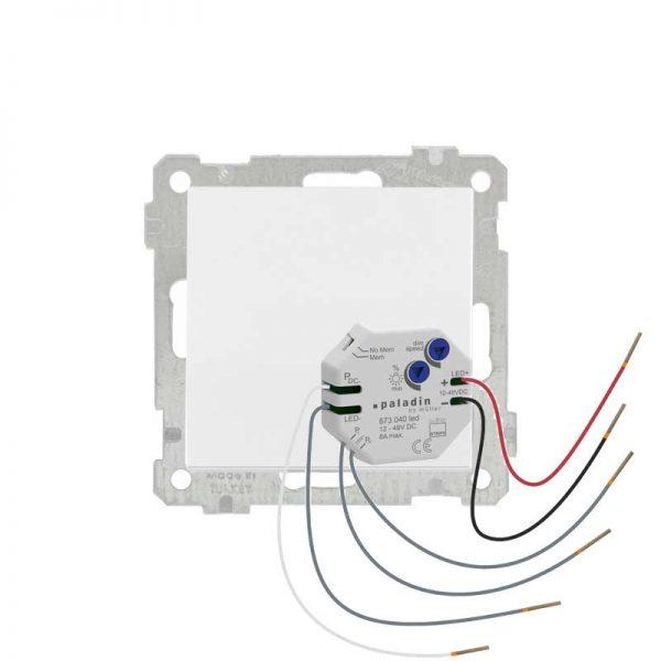Dimmer LED για Μπουτόν Απλό Λευκό Daria Mutlusan-002591