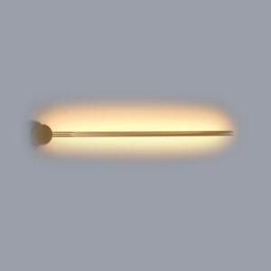 InLight Επιτοίχιο φωτιστικό από χρυσαφί μέταλλο (43015-GL)