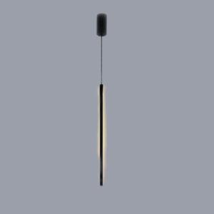 InLight Κρεμαστό φωτιστικό από μαύρο μέταλλο και ακρυλικό (6023)