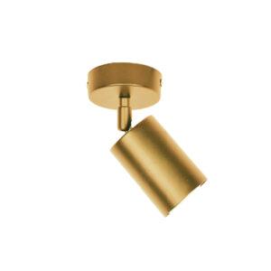 InLight Επιτοίχιο σποτ από χρυσαφί μέταλλο (9082-1)