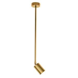 InLight Επιτοίχιο σποτ από χρυσαφί μέταλλο (9083)