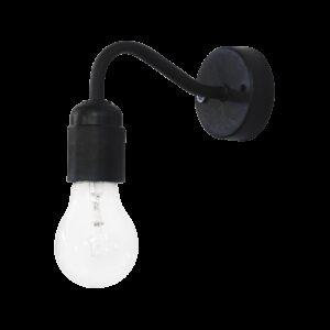 Φωτιστικό τοίχου / απλίκα AS-25 AP  BLACK 31-0626