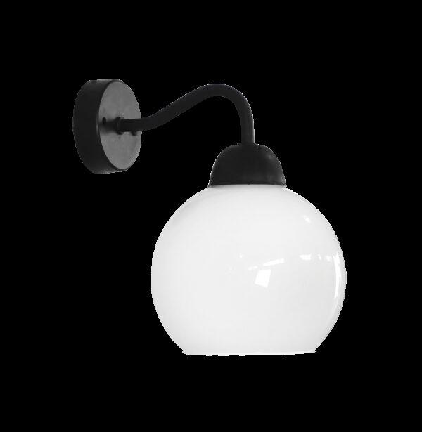 Φωτιστικό τοίχου / απλίκα AS-25AP OPAL BL-WH 02-0292