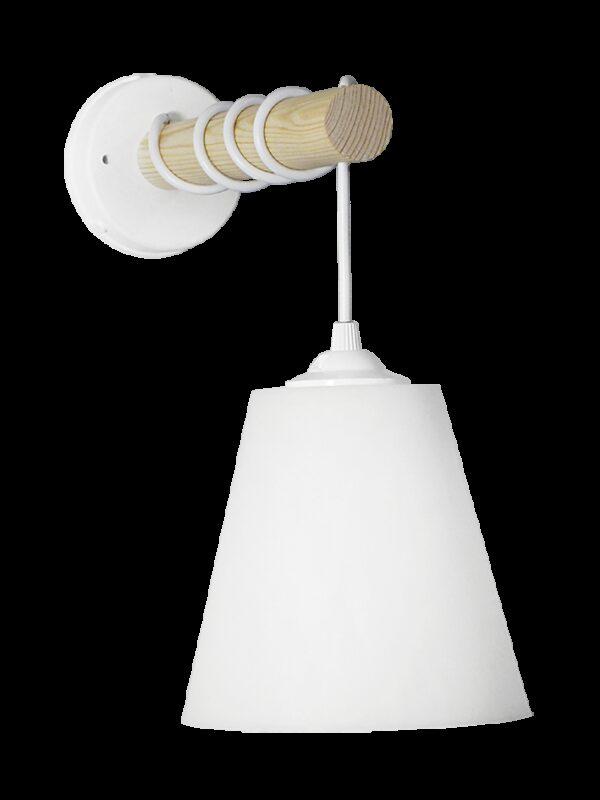 Φωτιστικό τοίχου FUN-01AP STICK WH-WH 31-1110