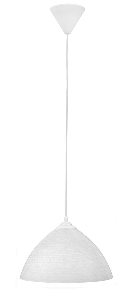 Φωτιστικό  GL-1010/25 1/L WHITE BRUSH 02-0203