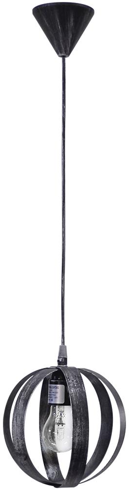 Κρεμαστό φωτιστικό μεταλλικό LAMA/18  1/L PENDEL SILVER 34-0089