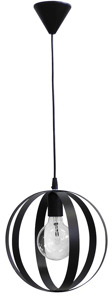 Κρεμαστό φωτιστικό μεταλλικό LAMA/25 1/L PENDEL BLACK 34-0068