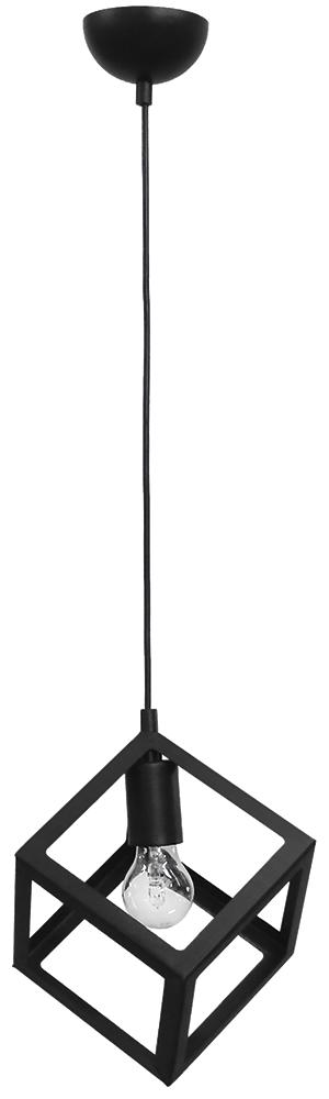 Κρεμαστό φωτιστικό KYVOS 1/L BLACK 34-0053