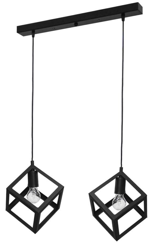 Κρεμαστό φωτιστικό KYVOS 2/L RAGA BLACK 34-0054