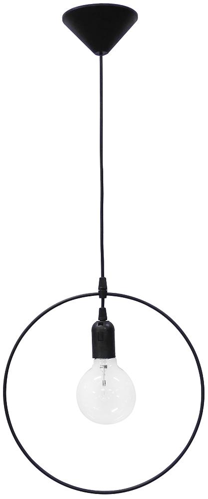 Κρεμαστό φωτιστικό KYKLOS  1/L BLACK 34-0038