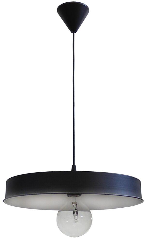 Κρεμαστό φωτιστικό μεταλλικό LM-310 1/L BL-WH 34-0043