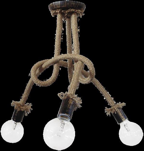 Φωτιστικό οροφής σχοινί  PLEX 3/L ROPE 01-0211