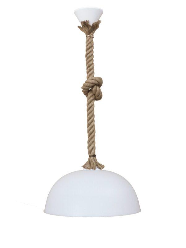 Κρεμαστό φωτιστικό SFERA/30 1L ROPE UT-WHITE 31-1056