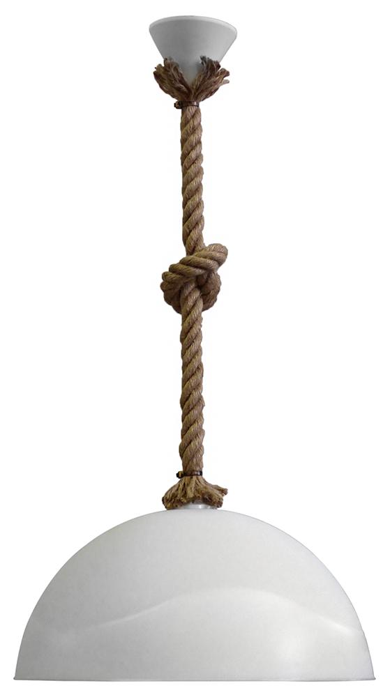 Κρεμαστό φωτιστικό  SFERA/36  1/L ROPE UT-WH 31-0942