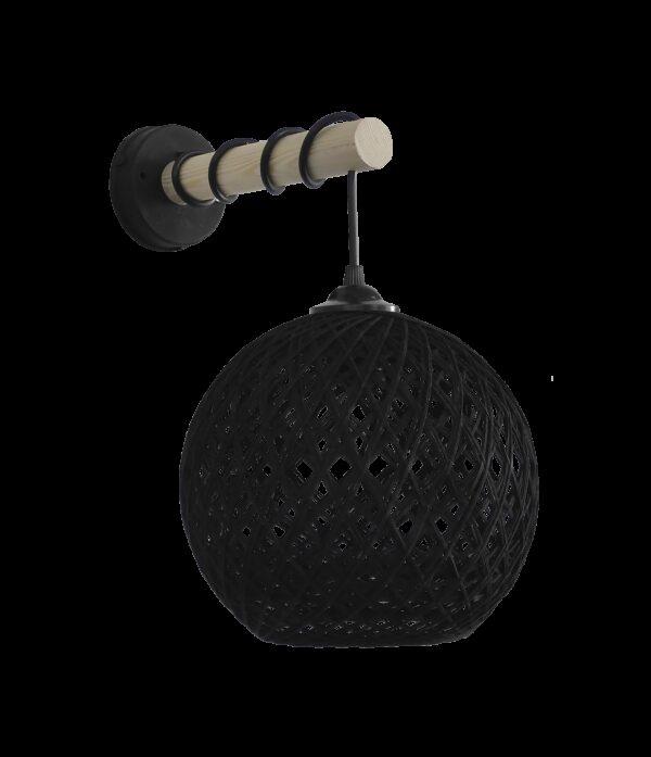 SILK-01/ΑΡ STICK BLACK Φ20 ΑΠΛΙΚΑ ΞΥΛΟ 31-1155