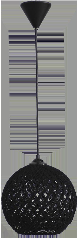 SILK-01 Φ20 BLACK 1/L PENDEL Ε/27 31-1138