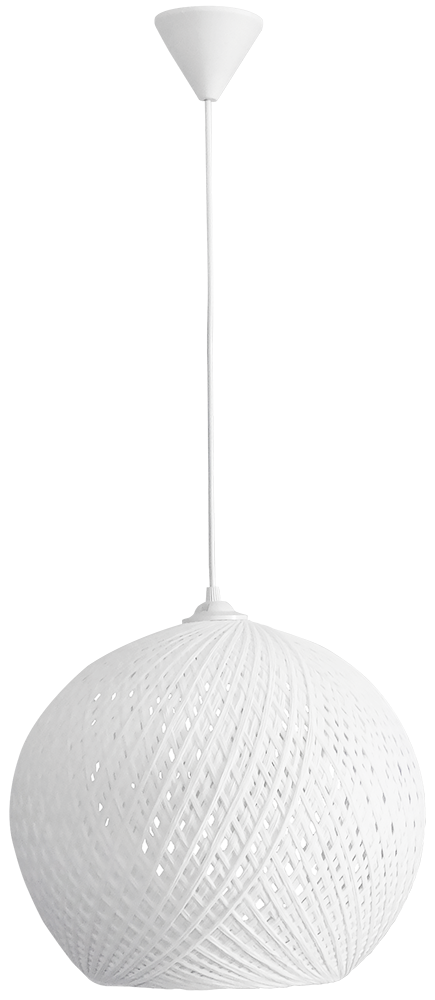 SILK-02 Φ35 WHITE 1/L PENDEL Ε/27 31-1142