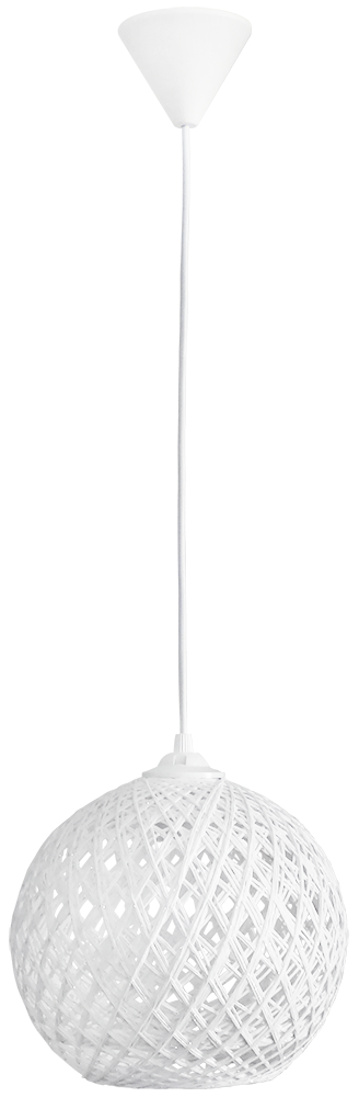 SILK-01 Φ20 WHITE 1/L PENDEL Ε/27 31-1139