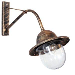 Φωτιστικό απλίκα W45-801 BRONZE 32-0027