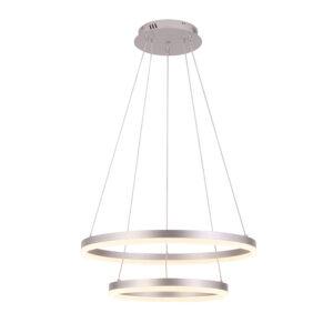 ΠΟΛΥΦΩΤΟ-ΚΡΕΜΑΣΤΟ ΦΩΤΙΣΤΙΚΟ LED-ΚΩΔ. D88059/2-SLV Sun Light